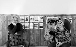 Foto intervjuule Janno Bergmann